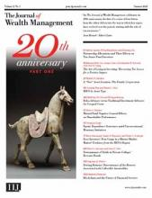 The Journal of Wealth Management: 21 (1)