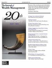 The Journal of Wealth Management: 21 (2)